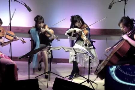 玉響 女性 ヴァイオリン 下弦の月