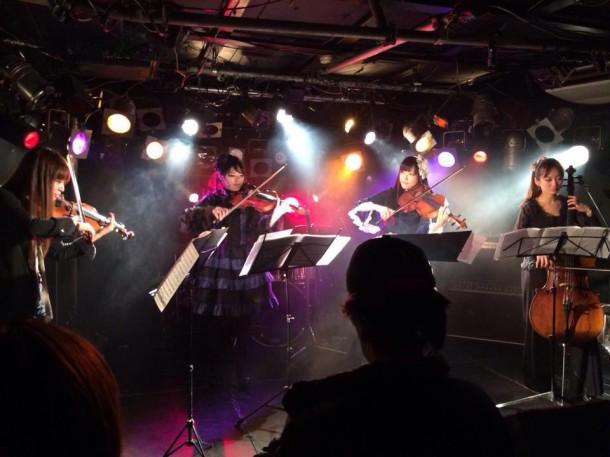 玉響 女性ヴァイオリニスト グループ