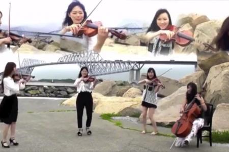 玉響 防波堤の花子 ヴァイオリン